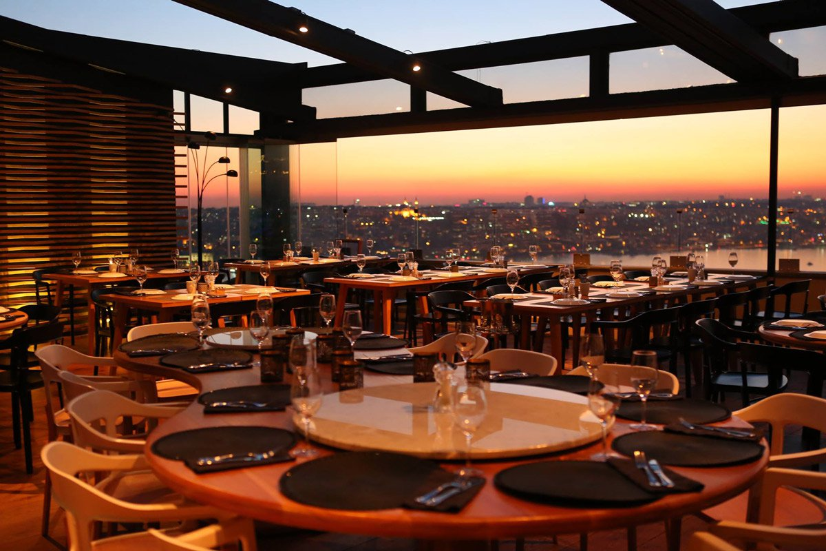 duble meze bar romantik akşam yemeği